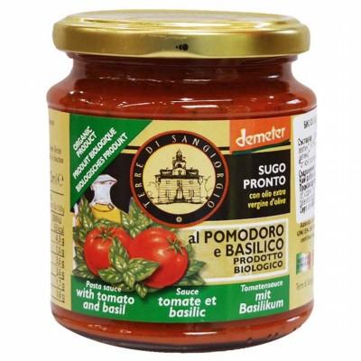 БИО Сос за паста TERRE DI SANGIORGIO с домат и босилек