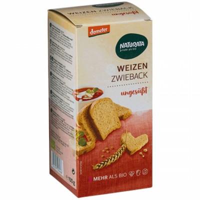 БИО Пшенични сухари NATURATA неподсладени