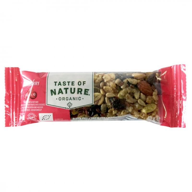 БИО Десерт Taste of Nature червена боровинка