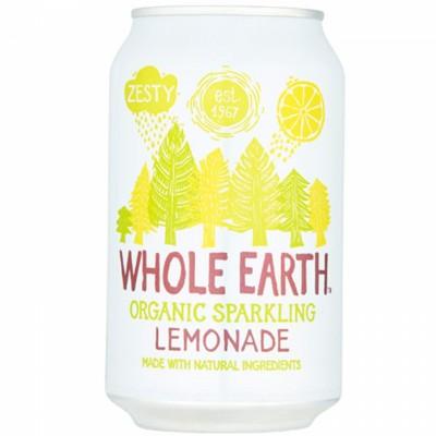 БИО Газирана напитка WHOLE EARTH лимонада