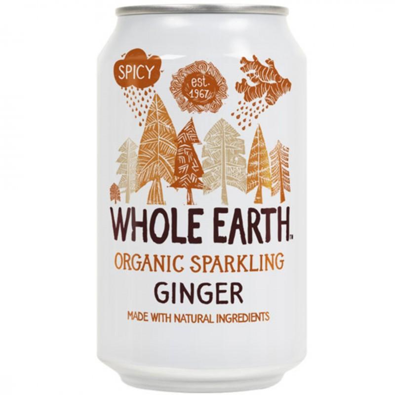 БИО Газирана напитка WHOLE EARTH джинджифил