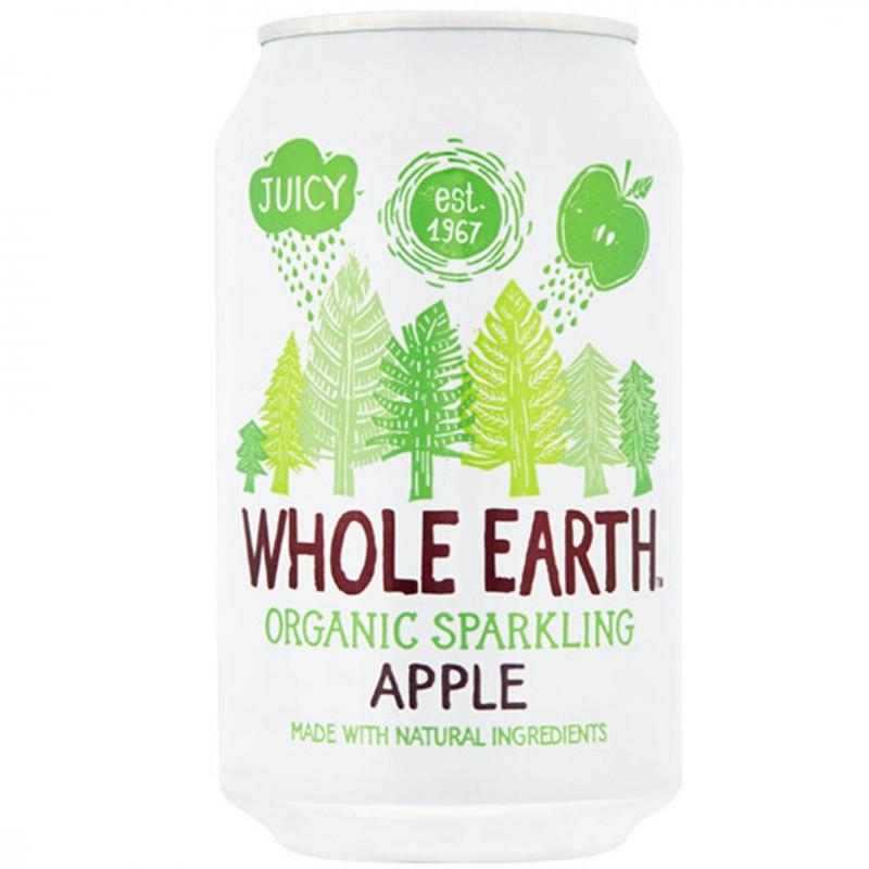 БИО Газирана напитка WHOLE EARTH ябълка