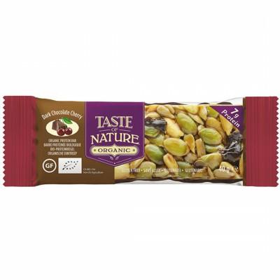 БИО Десерт Taste of Nature черен шоколад и череша