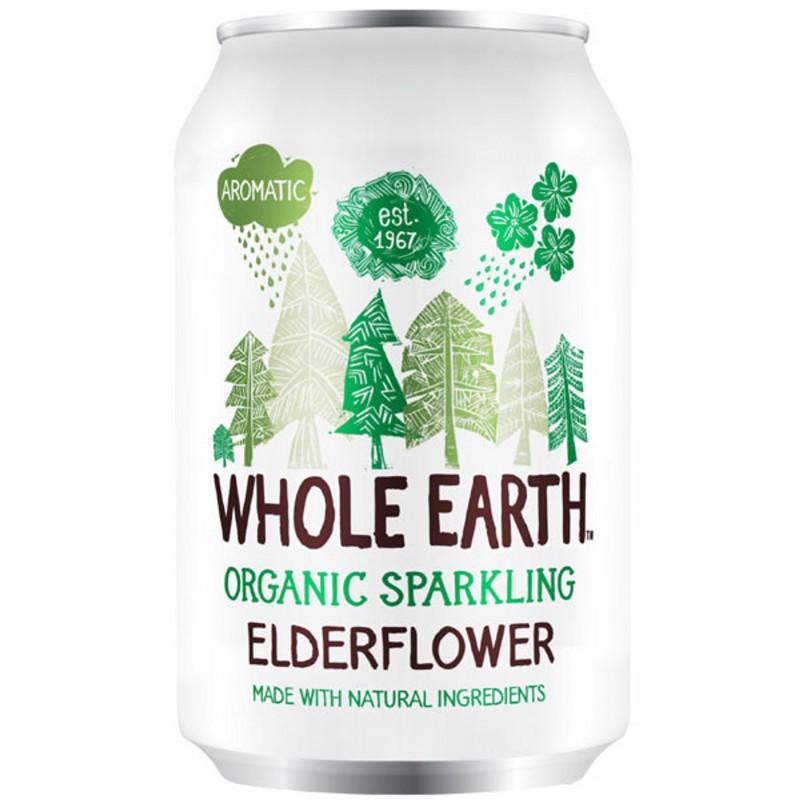 БИО Газирана напитка WHOLE EARTH бъз
