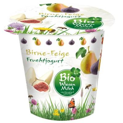 БИО Йогурт Bio Wiesenmilch круша и смокиня