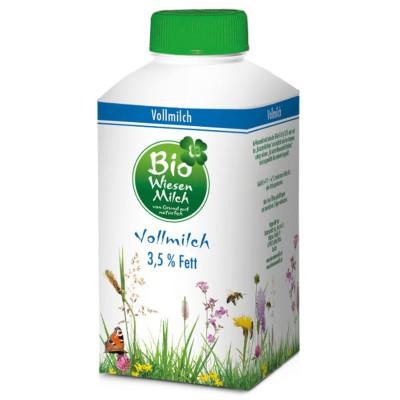 БИО Прясно краве мляко  Bio Wiesenmilch пълномаслено