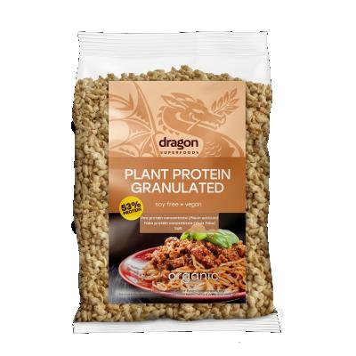 БИО Текстуриран растителен протеин Dragon Superfoods GRANULATED