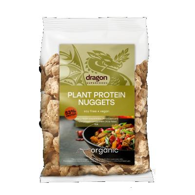 БИО Текстуриран растителен протеин Dragon Superfoods NUGGETS