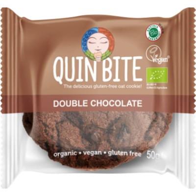 БИО Курабийка Quin Bite двоен шоколад