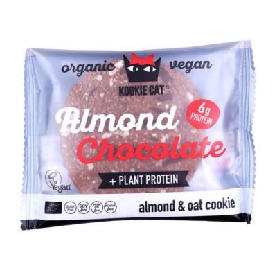 БИО Курабийка Kookie Cat протеин и черен шоколад