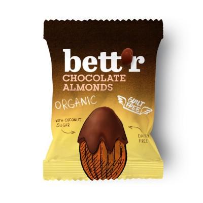 БИО Шоколадови бадеми 40g Bettr