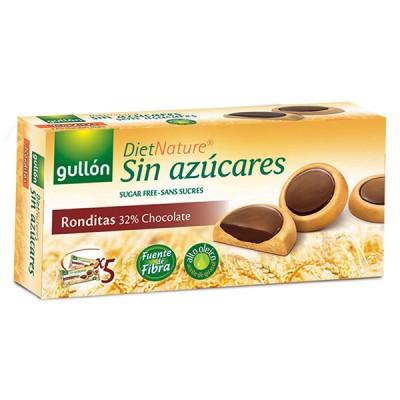 Бисквити Ronditas с тъмен шоколад без захар Gullon