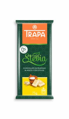 Шоколад Trapa бял със стевия
