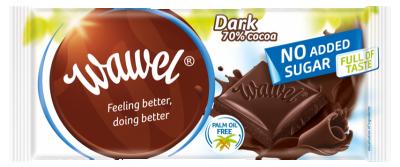 Шоколад 70% Какао Wawel Без добавена захар