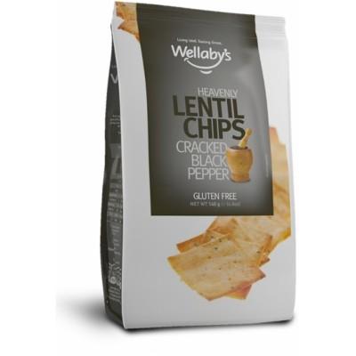 Безглутенов чипс от леща Wellaby's с черен пипер