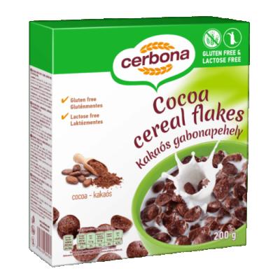 Безглутенова зърнена закуска Cerbona шоколад
