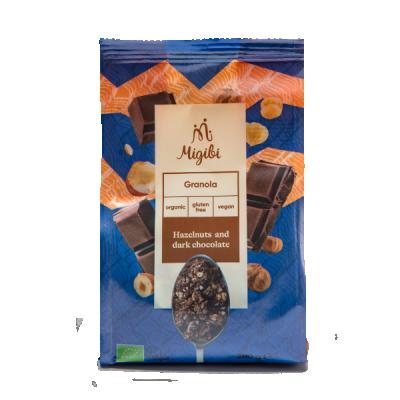 БИО Гранола Migibi с лешници и черен шоколад