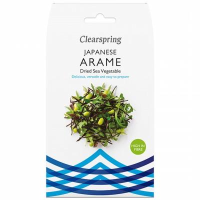 Сушени морски водорасли Clearspring Arame
