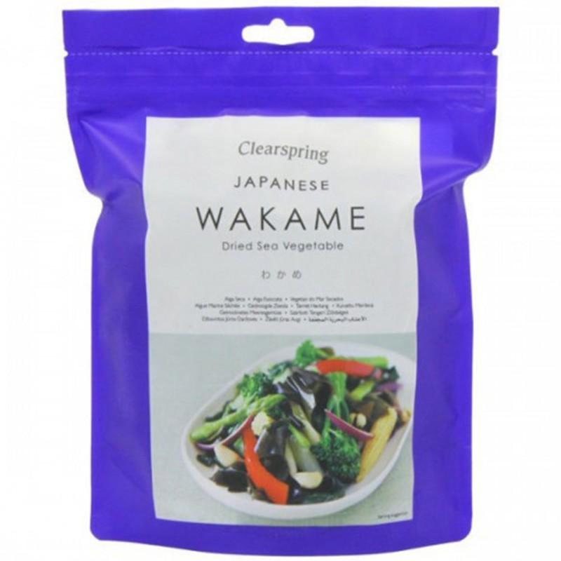 Сушени морски водорасли Wakame Clearspring