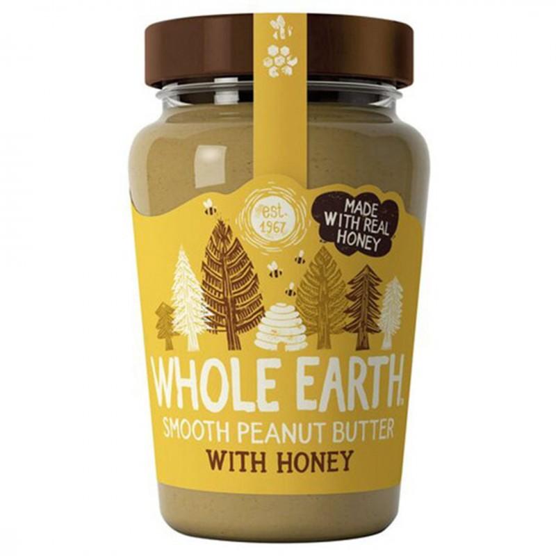 Фастъчено масло WholeEarth с мед