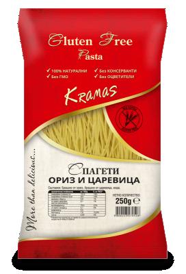 Спагети Kramas ориз и царевица