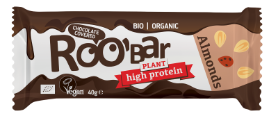 БИО Протеинов бар Roobar с бадеми и шоколад