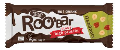 БИО Протеинов бар Roobar с лешници и шоколад
